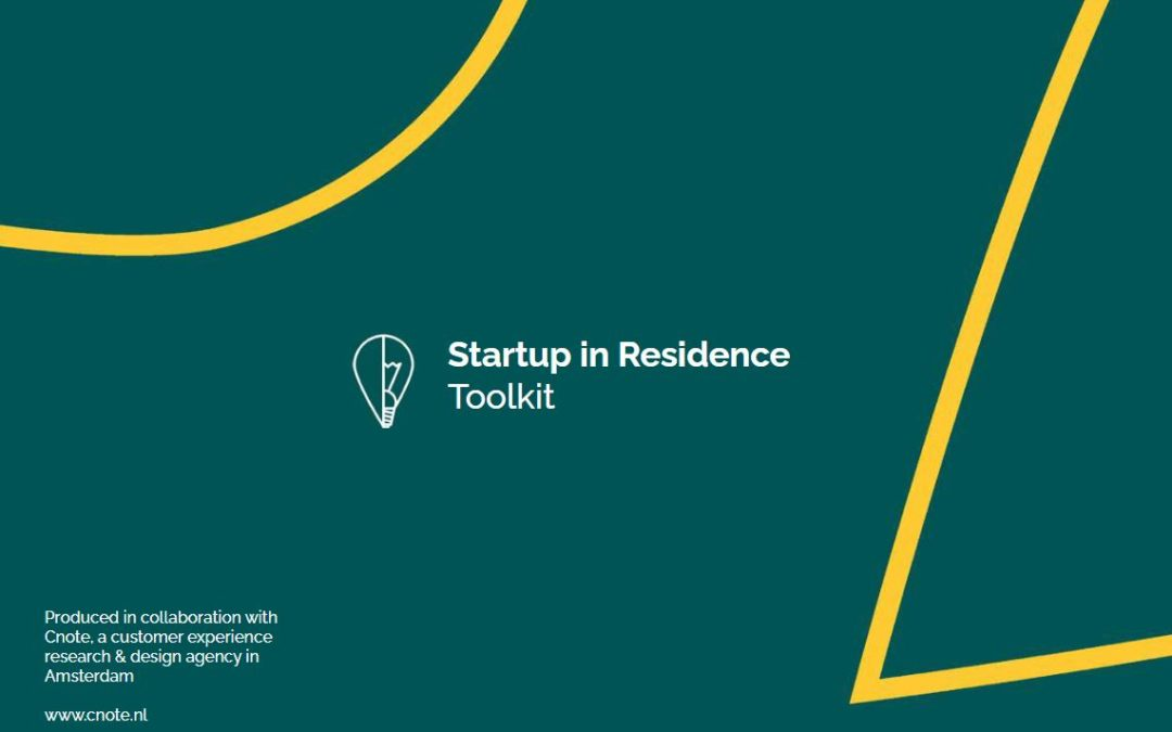 Startup in Residence Toolkit